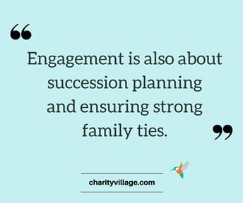 Lawson Foundation featured in CharityVillage article about family Foundations finding value in youth engagement