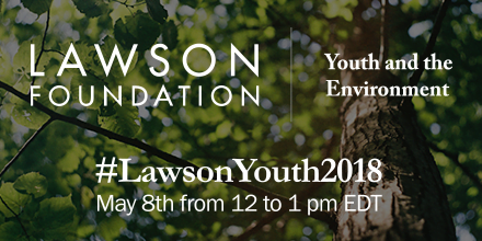 Twitter Chat: Youth and the Environment Funding Call