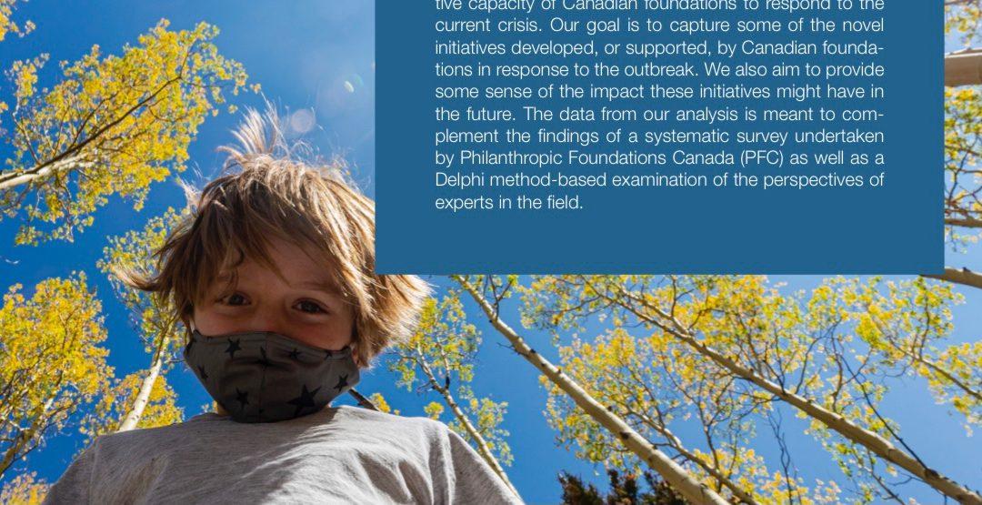 Report | COVID-19 Case Studies: Responses from Canada's philanthropic sector