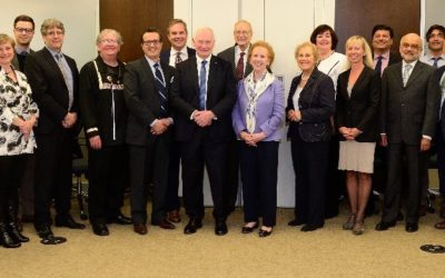 Governor General visits Foundation House