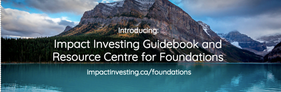 An Impact Investing Guidebook & Resource Centre